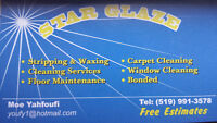 Star Glaze, Janitorial cleaning