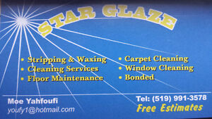 Star Glaze, Janitorial cleaning Windsor Region Ontario image 1