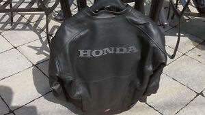 "men's Joe rocket leather jacket-""Honda"""