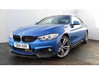 2014 BMW 4 Series 2014 14 BMW 4 Series 420D XDrive 2.0D M Sport Auto Coupe M Per