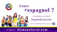 Cours d'espagnol 2017 en classe