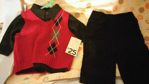 Brand new 0-3 month boys outfit