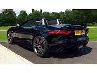 2017 Jaguar F-TYPE 3.0 S/C V6 British Design Edit Automatic Petrol Convertible