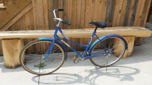 Blue Raleigh Bicycle