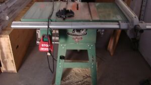 "General International Table Saw 10"" excellent condition"