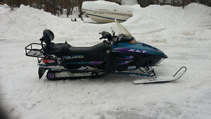 1997 polaris xlt 600 triple with trail pass