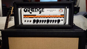 10/10 Orange Rockerverb 50 MKII and 10/10 Orange 4x12 V30's Cab