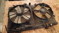 1997 - 2002 Honda Accord Coupe Radiator and Fans