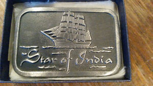Star of India Belt Buckle