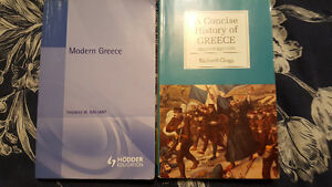 Greek History textbooks