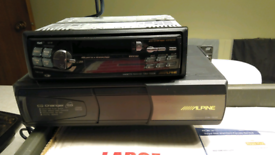 Car radio/cassette/CD autochanger