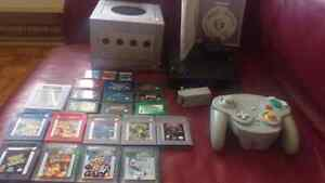 Gamecube, game boy, wavebird controller lot