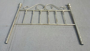 Brass headboard in excellent condition