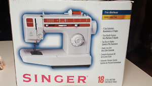 singer 18 stitch functions sewing machine
