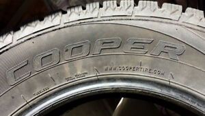 Winter Tires Cooper Excellent condition.  About 90 % tread