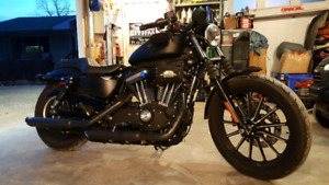 2014 Harley Davison priced to sell with stage IV Kit