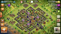 Clash of clan lvl 123, clan leader