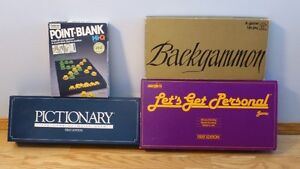 1970's BOARD GAMES (4 in total)