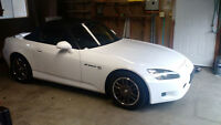 2001 Honda S2000 Type-V Japanese Import White Zero Accidents Cle
