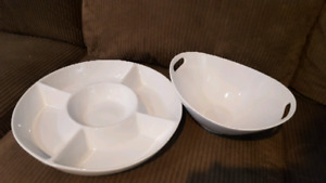 Serving bowl/plate