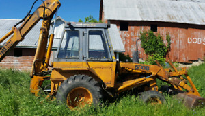 580B case backhoe