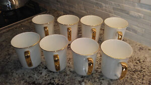 Royal Albert Val D'or Coffee Mugs