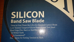 """Tuff Tooth Silicon Band Saw Blade 105"""" long x ¼"""" wide, 6 TPI Cambridge Kitchener Area image 2"""