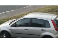 Ford Fiesta 1.4 2004 on sorn, spares or repair
