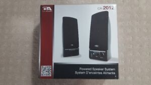 Computer Speakers - NEW - Open Box - MUST SELL!