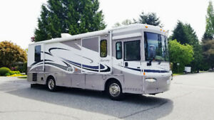 Wheelchair accessible motorhome class A