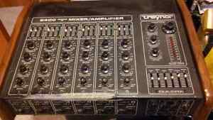 Traynor 6 channel powered mixer