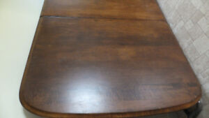 Solid Dining Room Table, Heavy, no chairs