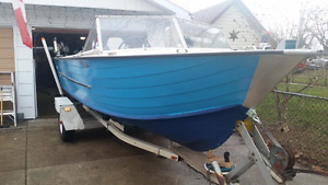 18' Starcraft Fishing Boat with Trailer