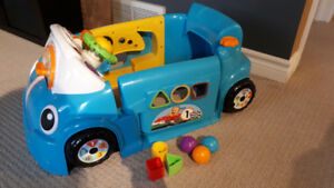 Fisher price crawl around car