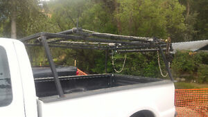 Boat rack with winch