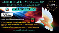 EXHIBITION SPACE LIMITED:  World Peace Day Celebration 2017