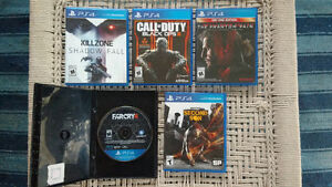 PS4 Black Ops Bundle w/5 Games North Shore Greater Vancouver Area image 2