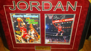 Michael Jordan signed & authenticated photo