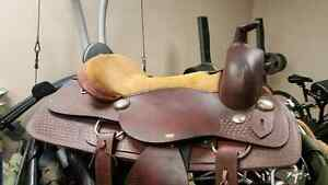 New Price (Reduced to $120. 00) FOR 16inch ALL LEATHER SADDLE  B