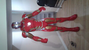 Life SIZE IRONMAN  STATUE  for sale