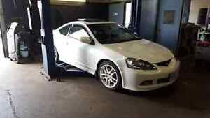 2006 Pearl White Acura RSX Type S