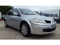 RENAULT MEGAN CHEAP LOW MILEAGE CAR TECH RUN VVT 5dr PETROL MANUAL 2008 63K