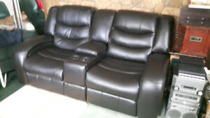 Double Reclining love seat - entertainment seating
