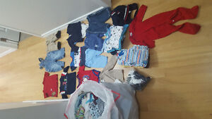 Bag of baby boy gently used clothing
