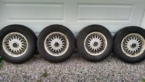 Nordic snow tires on rims