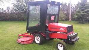 Tracteur toro tondeuse 223-D