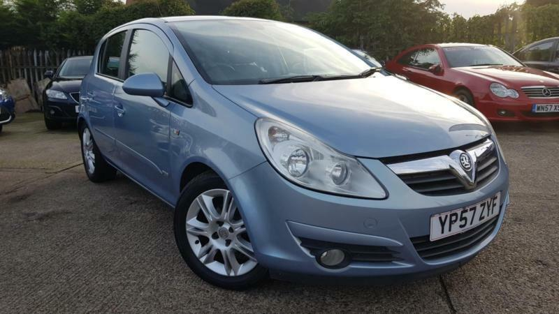 2007 VAUXHALL CORSA DESIGN 5 DOOR 1.4 PETROL,LOW MILEAGE,HALF LEATHER