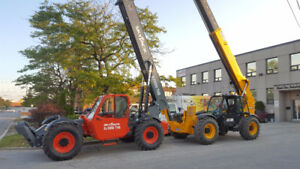TELEHANDLERS FOR SALE/RENT USED/NEW MAN LIFTS ETC