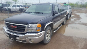 2005 SIERRA. JUST IN FOR PARTS AT PIC N SAVE! WELLAND
