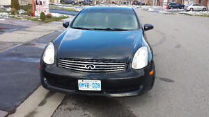 2006 Infiniti G35 sport coupe Safety and E-tested